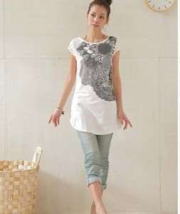 T112 Korean sexy womens cotton top/dress/T shirt