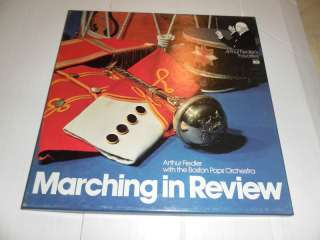 Arthur Fiedler w/The Boston Pops Marching in Review