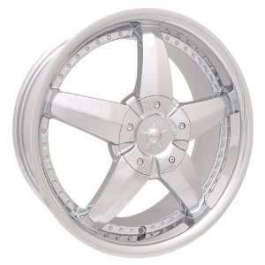 BWT Riviera (Chrome) Wheels/Rims 5x100/114.3 (BW95 7703C) Automotive