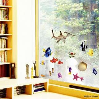 Disney Finding Nemo Deco Kids Wall Art Sticker Decals