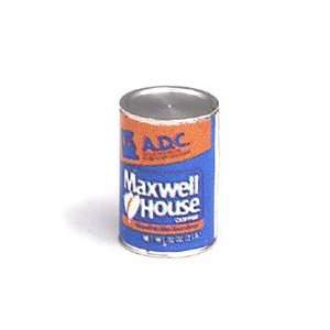 Dollhouse Miniature Maxwell House Coffee Can Toys & Games