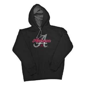 Crimson Tide Bama Womens Black Hooded Sweatshirt