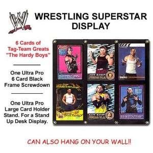 Wwe Hardy Boys 6 Trading Card Collectors Display Set