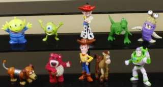 TOY STORY FIGURE TOY CUTE LOT 10