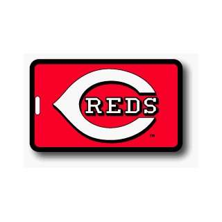 SET OF 3 CINCINNATI REDS LUGGAGE TAGS *SALE* Sports