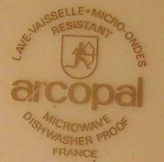 ARCOPAL France TRIANON WHITE Salad or Dessert Plate 8
