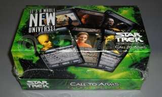 Star Trek A Call To Arms 2nd Edition Sealed Combo Box