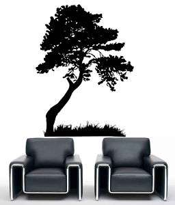 Tree Leaves Grass Decoration Wall art Mural Vinyl Decal