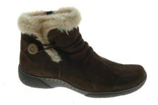 Bare Traps NEW Laurel Womens Ankle Boots Brown Suede 8.5