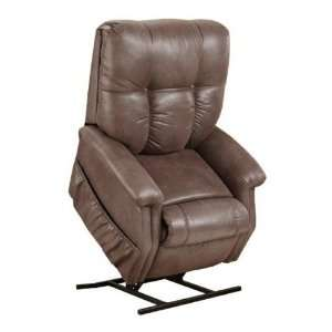Way T Back Reclining Lift Chair Stampede Chocolate