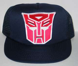 Transformers Autobot Logo Patch Baseball Hat /Cap NEW