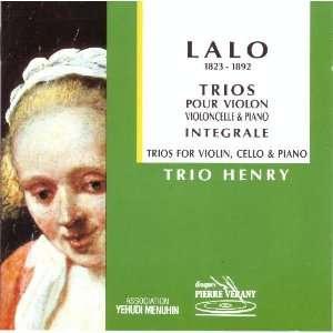 Lalo Complete Piano Trios Nos. 1 3 (Lalo Trios Pour