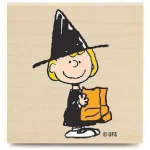 Sally The Witch (Peanuts)   Rubber Stamps: Arts, Crafts