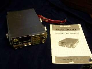 AZDEN PCS 2000 2M FM 2 METER HAM RADIO TRANSCEIVER RADIO 12 VOLT