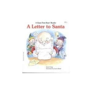 A Letter to Santa (A Giant First Start Reader
