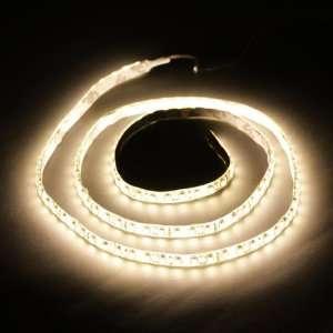 Warm White 1M 120 LED 3528 SMD Flexible Car DIY Strip Light Waterproof
