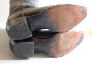 Mens Cowboy Boots  Tony Lama Black Leather   Lite Wear   13 D