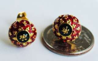 description jewelry information style earrings type 18 24k gold plated