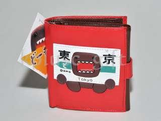 W06 Domo   Kun Tokyo Japan Anime Wallet Purse Coins Bag