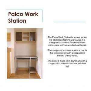 Logical Progression Palco Computer Desk Home & Kitchen