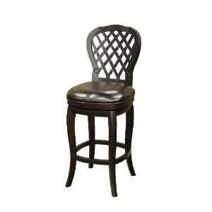 American Heritage Dahlia Black 42 High Counter Stool