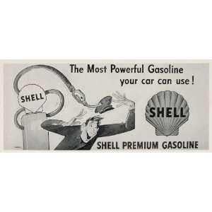 Gas Pump Attendant Siebel   Original Halftone Print: Home & Kitchen