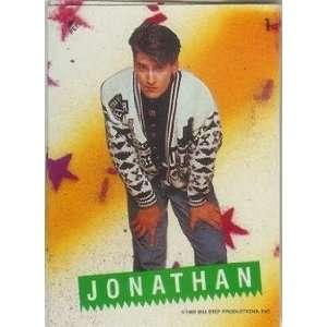 1989 Big Step New Kids on the Block #1 Jonathan Sticker