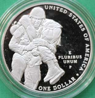 2011 Proof Army 2011 Medal of Honor Silver Dollar Commemorative Coin