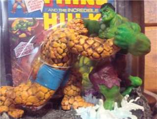 Marvel Legends Masterworks Hulk vs Thing The Thing and The Incredible
