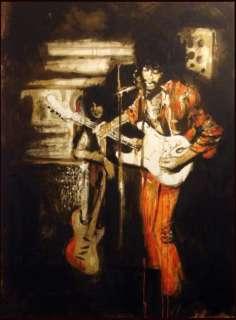 Ronnie Wood Jimi and Me at the Scene Club NY 96 Jimi Hendrix, Hand