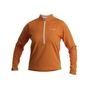 Cannondale Womens Midweight Cycling Jersey (Orange, Large