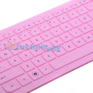Pink Keyboard Cover Skin Protector for HP Pavilion G4 G6 Presario CQ43