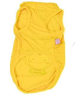 Yellow BEE Summer Vest T Tank Shirt Dog Clothes AnySize