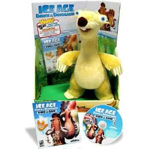 Ice Age Dawn of the Dinosaurs Exclusive Deluxe Plush Sid (Includes