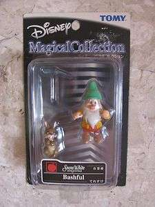 Tomy Disney Magical Collection Snow White Dwarf Bashful