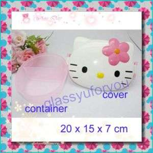 Hello Kitty Bento Lunch Box Container Case