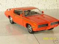 1969 Pontiac GTO Judge Diecast Car Cars Die Cast
