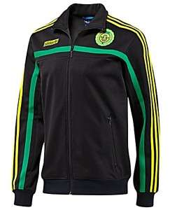Adidas JAMAICA Soccer Football Top Track Shirt Jacket Rasta