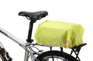 Cycling Bike Bicycle Rear Seat Bag Pannier Rain Cover