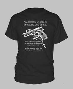 BOONDOCK SAINTS ~ T SHIRT Gun Rosary Prayer boon dock ALL SIZES AND