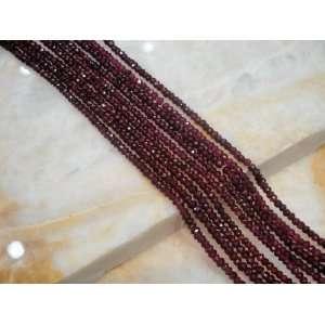 Natural Red Rhodolite Garnet Gemstone Israel Cut Faceted Loose