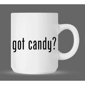 got candy?   Funny Humor Ceramic 11oz Coffee Mug Cup