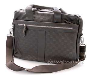 Top Grained Italian CALF Leather Men Briefcase Laptop Case Messenger