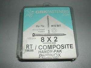 RT Composite™ Trim™ Head Screw 2 STAINLESS STEEL