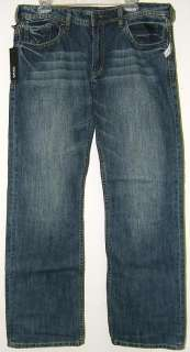 Buffalo David Bitton Driven Straight Leg Jeans New