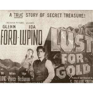 Lust for Gold Glenn Ford, Ida Lupino Movies & TV