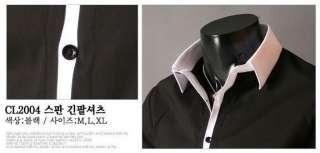 New Mens Casual Slim Fit Stylish Dress Shirts h03 M XL