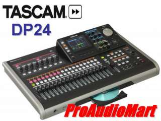 Tascam DP 24 Digital PortaStudio multi track recording NEW Free