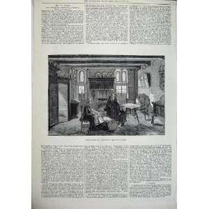 1878 Paris Exhibition Interior Dutch House Family Art