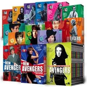 The Complete Patrick Macnee Avengers Saga Patrick MacNee